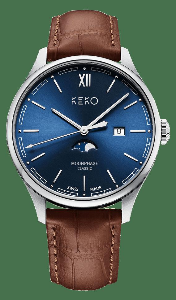 Keko Moonphase Classic Blue
