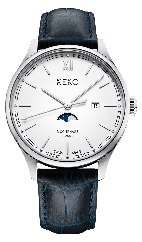 Keko Moonphase Classic White
