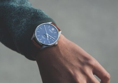 keko-moonphase-classic-blue-casual-dress-wrist-shot-near