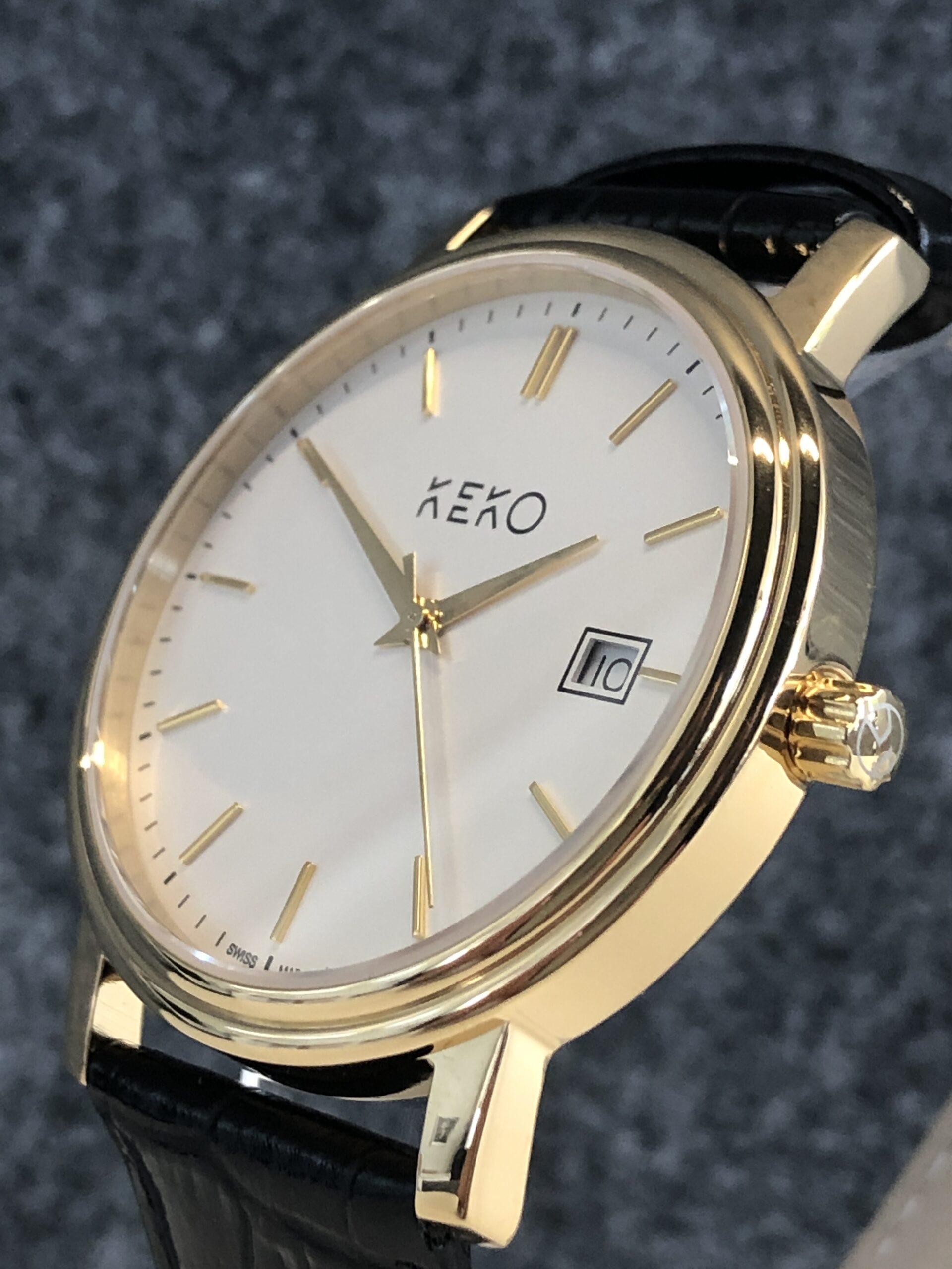 keko-uhr-classic-gold-seitenansicht-mit-krone