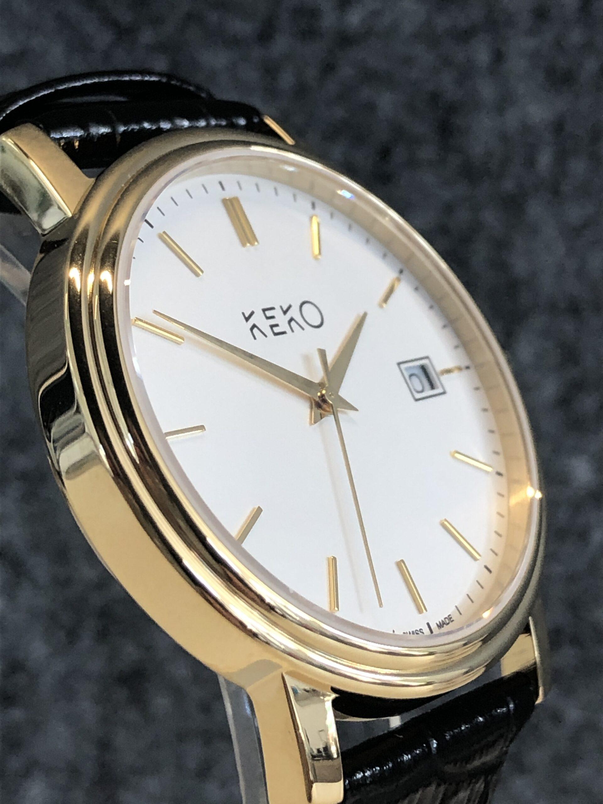 keko-uhr-classic-gold-seitenansicht